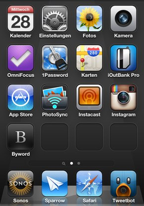 IPhoneBlog de Homescreen a iPhone