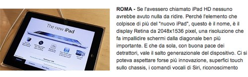 IPhoneBlog de Italien La Repubblica