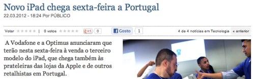 IPhoneBlog de Publico Portugal