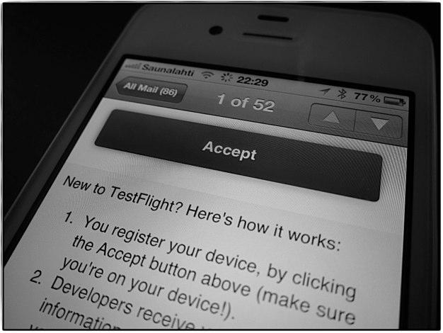 IPhoneBlog de TestFlight