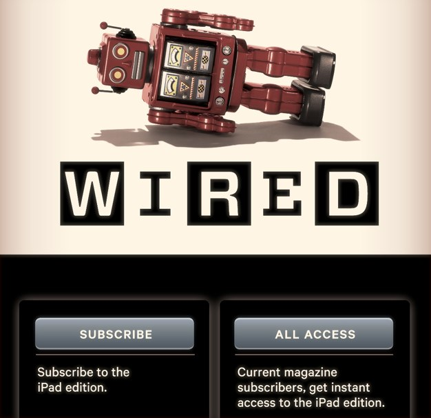 IPhoneBlog de Wired Newsstand