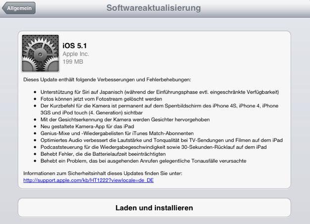 IPhoneBlog de iOS 5 1