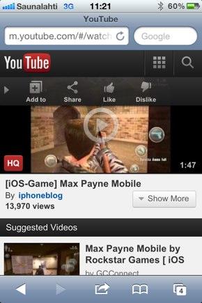 IPhoneBlog de Max Payne