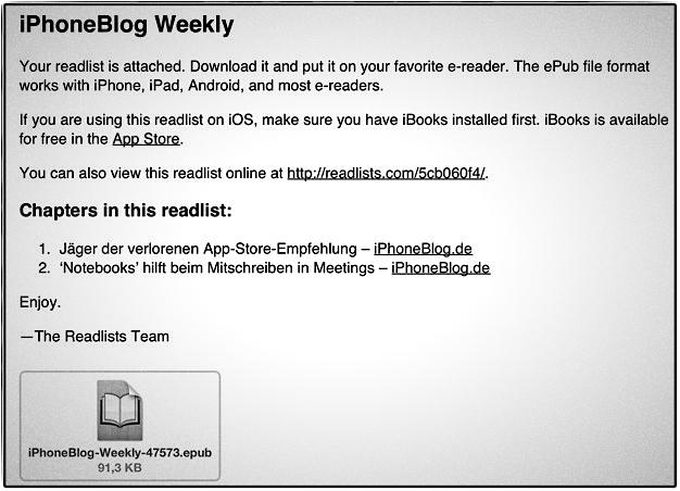 IPhoneBlog de Readlists