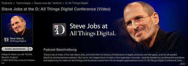 IPhoneBlog de Steve Jobs AllThingsD