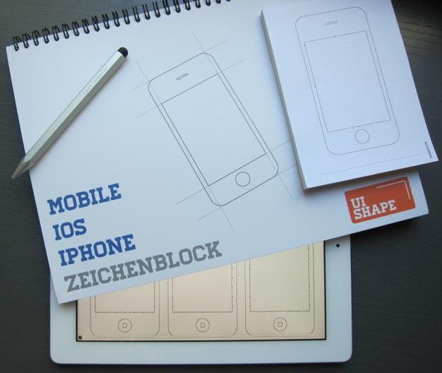 IPhoneBlog de Zeichenblock
