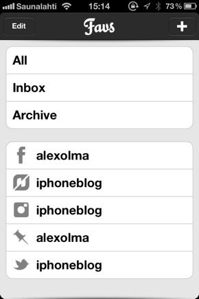 IPhoneBlog de Favs a