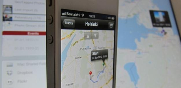 IPhoneBlog de GeoTagr