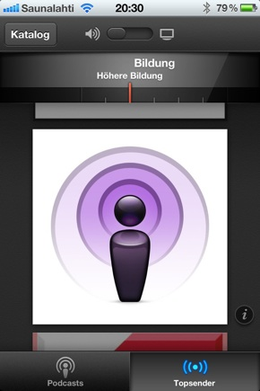 IPhoneBlog de Podcasts b
