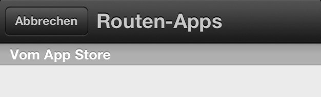 IPhoneBlog de Routen Apps