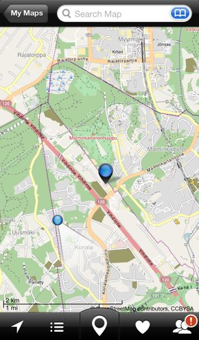 IPhoneBlog de City Maps 2Go