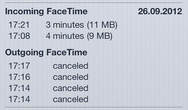 IPhoneBlog de FaceTime Calls 1
