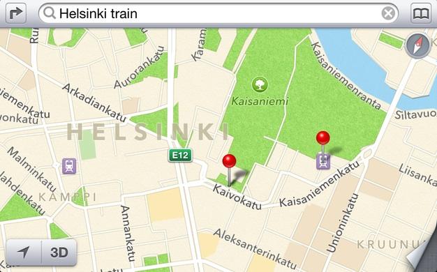 IPhoneBlog de Helsinki Railway