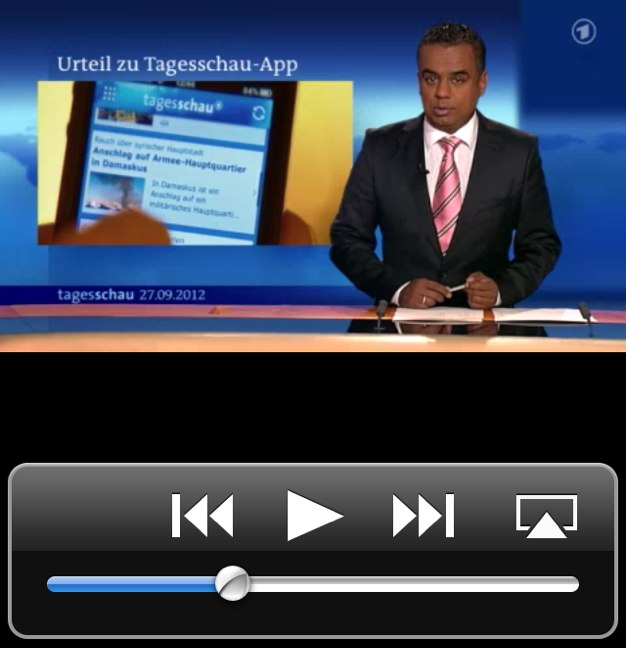 IPhoneBlog de Presseaehnlich Tagesschau App