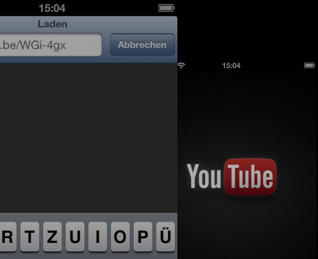 IPhoneBlog de YouTube OpenURL
