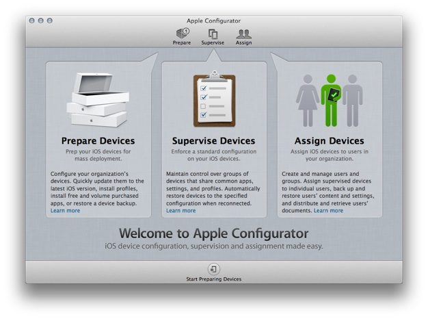 IPhoneBlog de Apple Configurator
