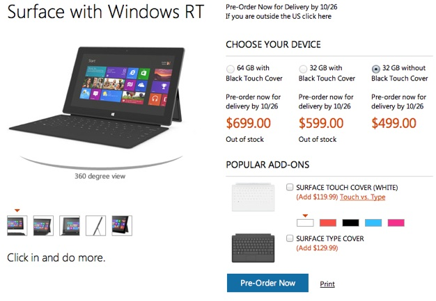 IPhoneBlog de Surface Windows RT 1