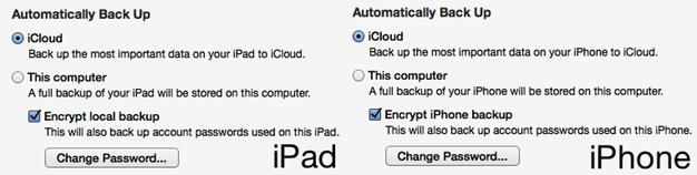 IPhoneBlog de Backup local iCloud