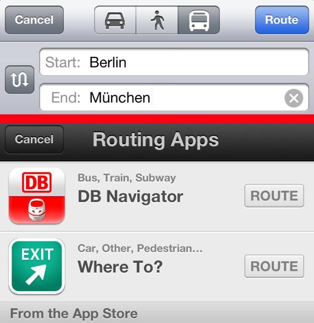 IPhoneBlog de Karten zeigt dir wo es langgeht