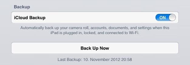 IPhoneBlog de iCloud Backup