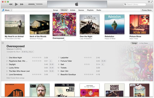 IPhoneBlog de iTunes Knapp im November 1