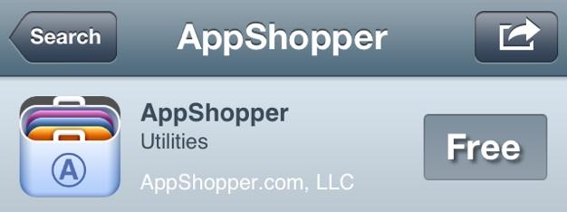 IPhoneBlog de AppShopper sie sind raus