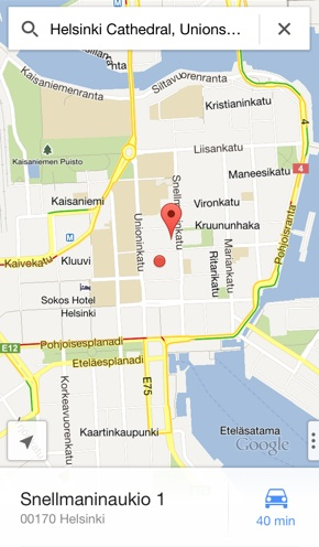 IPhoneBlog de Google Maps iPhone a