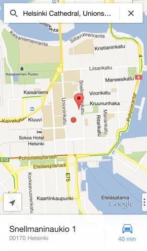 IPhoneBlog de Google Maps iPhone a