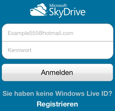 IPhoneBlog de SkyDrive Setup