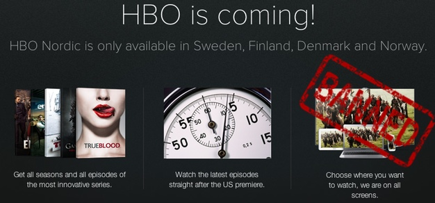IPhoneBlog de HBO Nordic