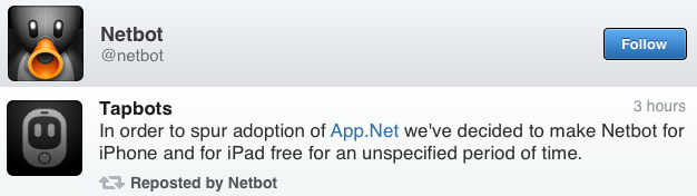 IPhoneBlog de Netbot Tapbots