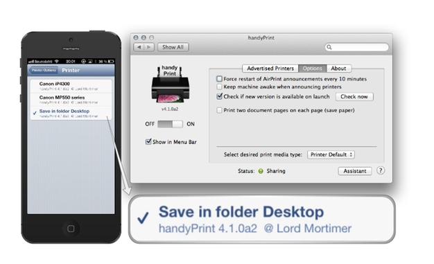 IPhoneBlog de handyPrint Drucker