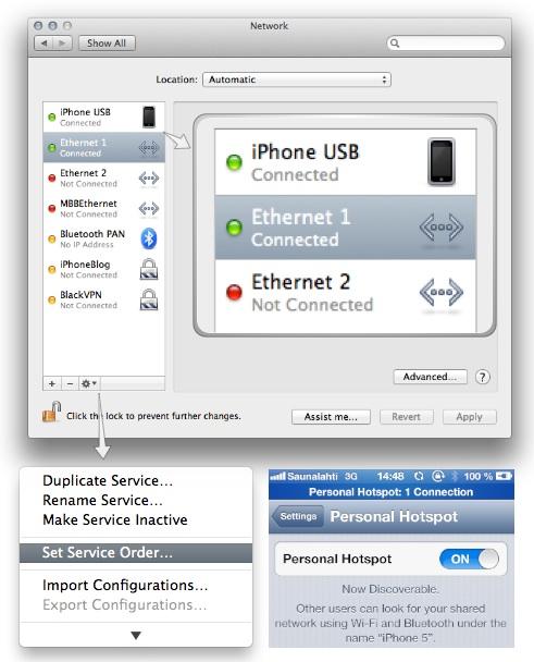 IPhoneBlog Set Service Order