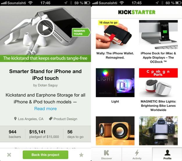 IPhoneBlog de Kickstarter iPhone