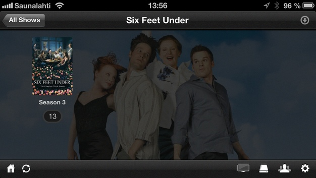 IPhoneBlog de Plex Six Feet Under