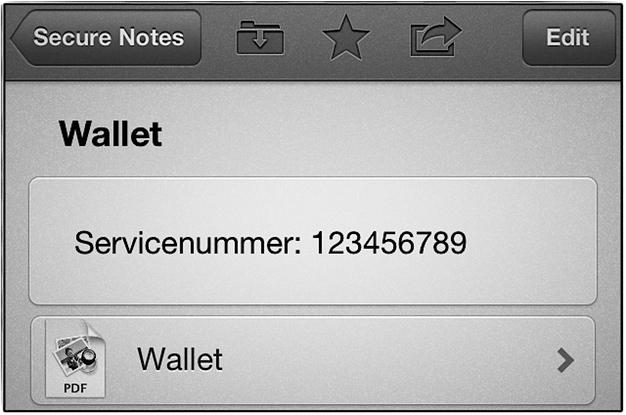 IPhoneBlog de 1Password Wallet
