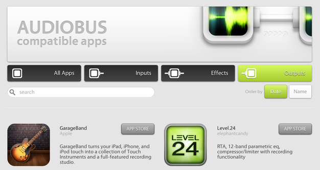 IPhoneBlog de GarageBand meets Audiobus