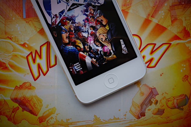IPhoneBlog de Marvel Comics