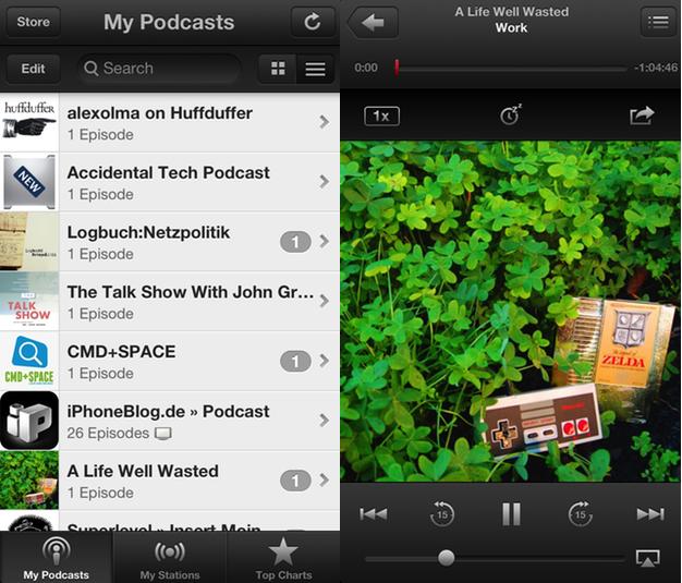 IPhoneBlog de Podcast App