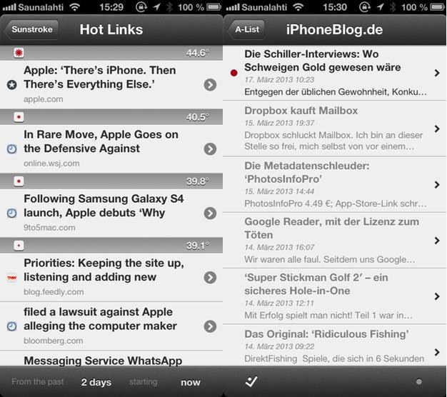 IPhoneBlog de Sunstroke Screenshots