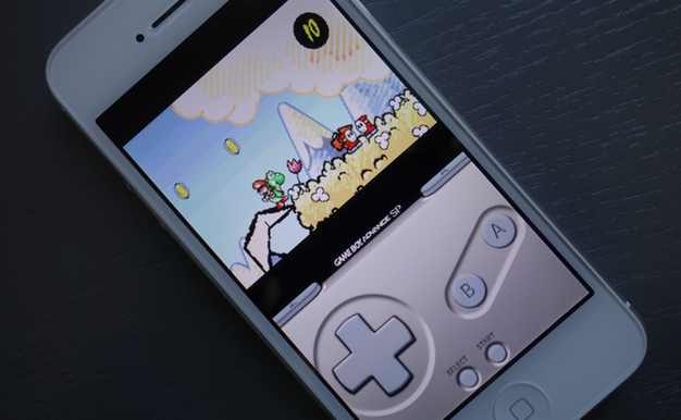 IPhoneBlog de Super Mario on iPhone