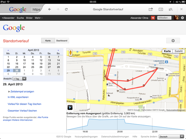 IPhoneBlog de Google Now Location
