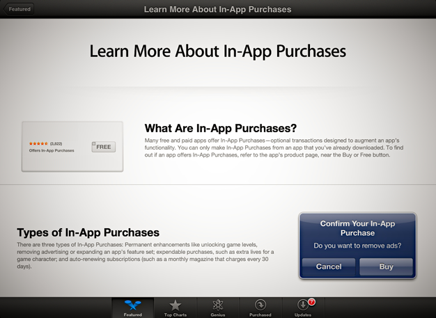 IPhoneBlog de Learn About In App Purchases