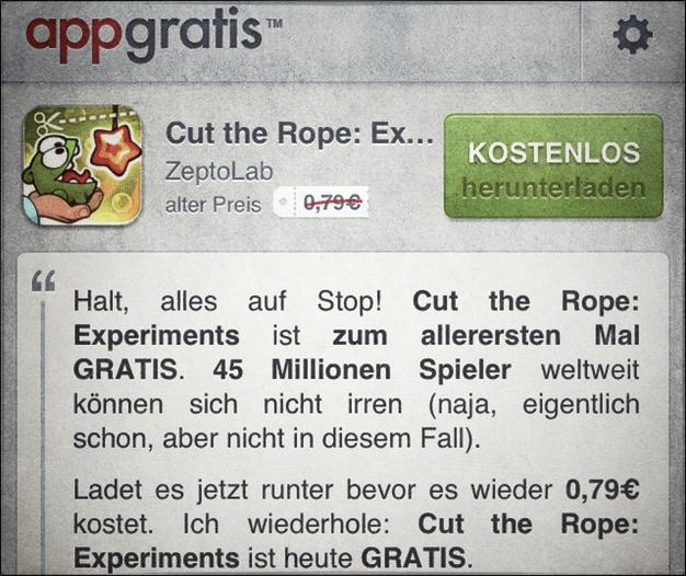 IPhoneBlog AppGratis Promo