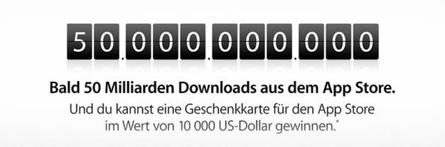 IPhoneBlog de 50 Milliarden