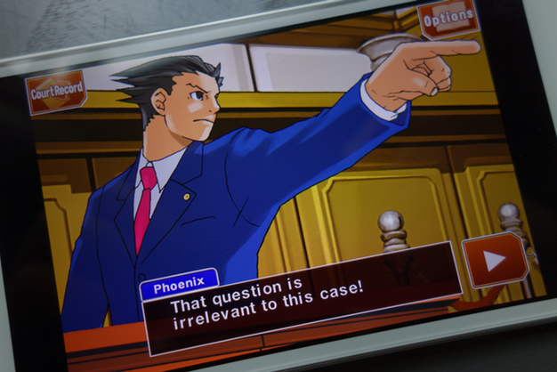 IPhoneBlog de Ace Attorney