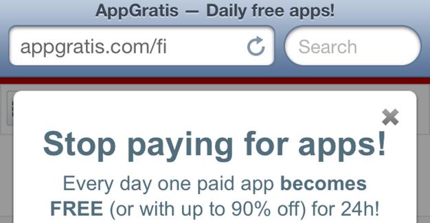 IPhoneBlog de AppGratis Slogan