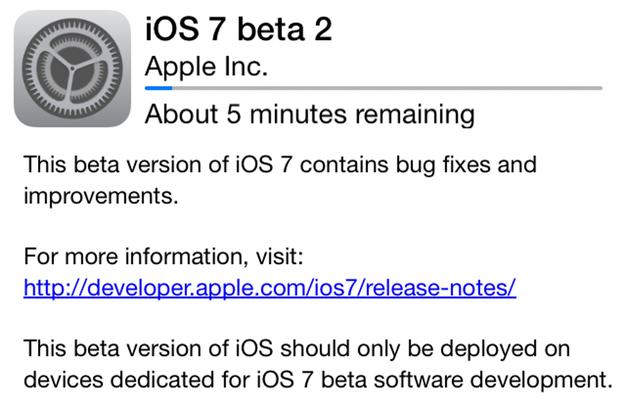 IPhoneBlog de Beta2 ios7