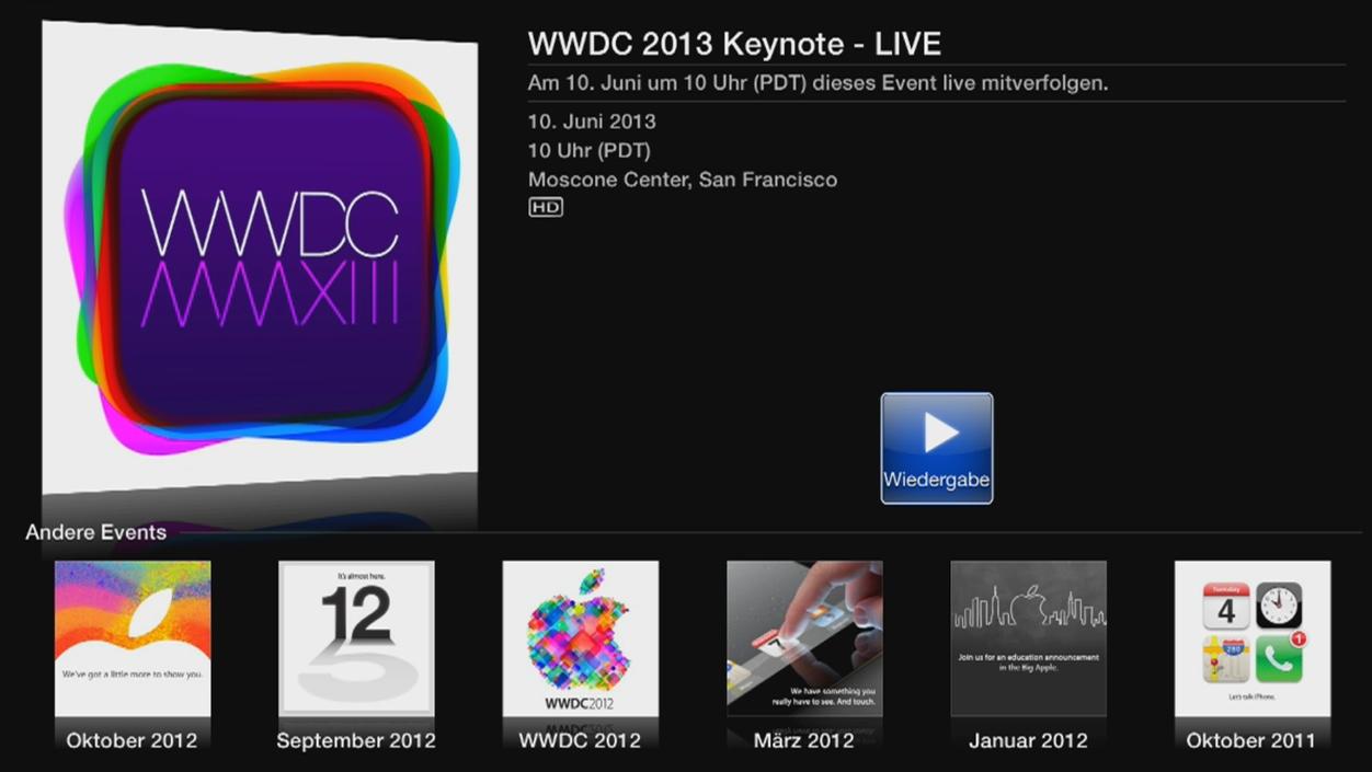 IPhoneBlog de Live WWDC 2013