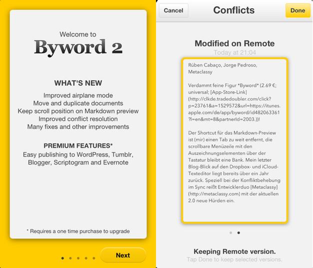 IPhoneBlog Byword 2